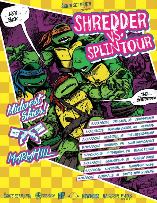 shredder vs. splintour